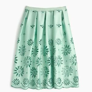 ISO Lilly Pulitzer Pleated Eyelet Skirt